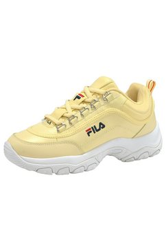 fila sneakers »strada low wmn« geel