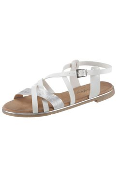 mustang shoes sandalen wit