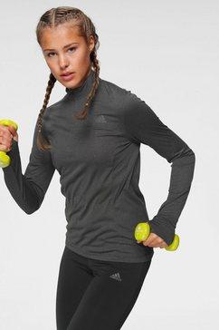 adidas performance runningshirt grijs