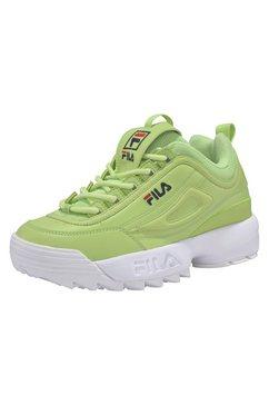 fila sneakers »disruptor low wmn« geel