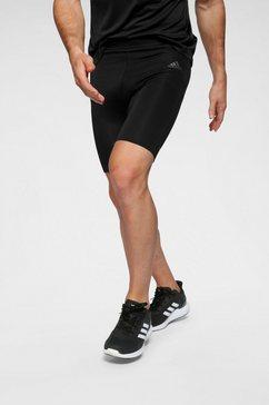 adidas performance runningshort »own the run short tights« zwart