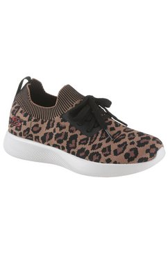 skechers slip-on sneakers »bobs squad 2 - troop tiger« bruin