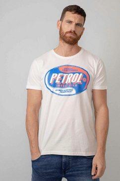 petrol industries t-shirt wit