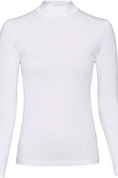 waeschepur shirt met lange mouwen wit