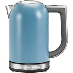 kitchenaid waterkoker, 5kek1722evb, 1,7 liter blauw