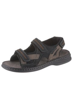josef seibel sandalen »max« zwart