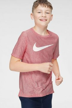 nike functioneel shirt »boys nike dry shortsleeve top« rood