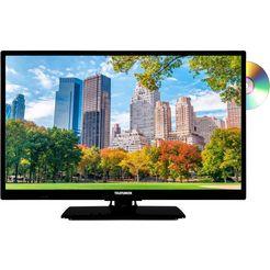 telefunken l24h506m4d led-tv (60 cm - 24 inch), hd-ready zwart
