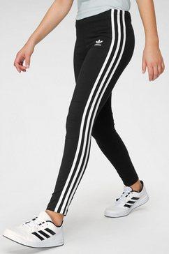 adidas originals trainingsbroek »3-streifen leggings« zwart