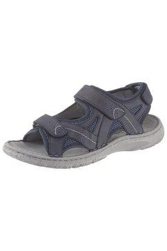 josef seibel sandalen »carlo« blauw