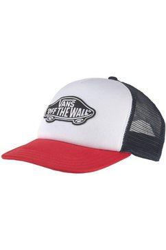 vans baseballcap rood