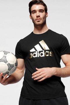 adidas performance t-shirt zwart