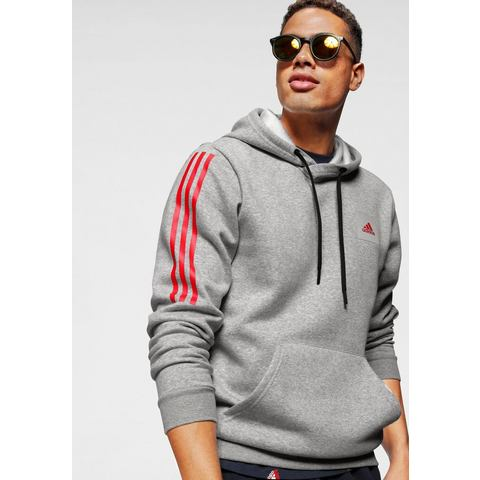 adidas performance sportsweater grijs-zwart