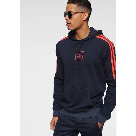 adidas performance sportsweater donkerblauw-oranje