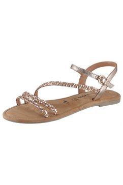 tamaris sandalen »tofa« roze