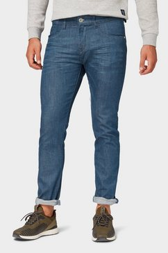 tom tailor slim fit jeans »troy slim jeans « groen