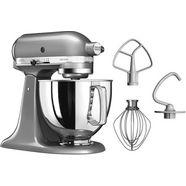 kitchenaid keukenmachine artisan 5ksm125ecu contour-zilver zilver