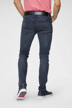 tommy jeans tapered jeans slim tapered austin blauw