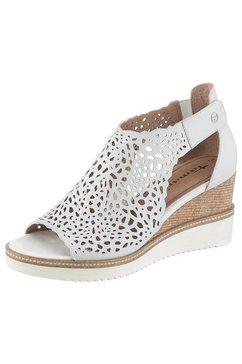 tamaris sandaaltjes »alis« wit