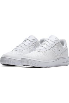 nike sportswear sneakers »air force 1 flyknit 2.0« wit