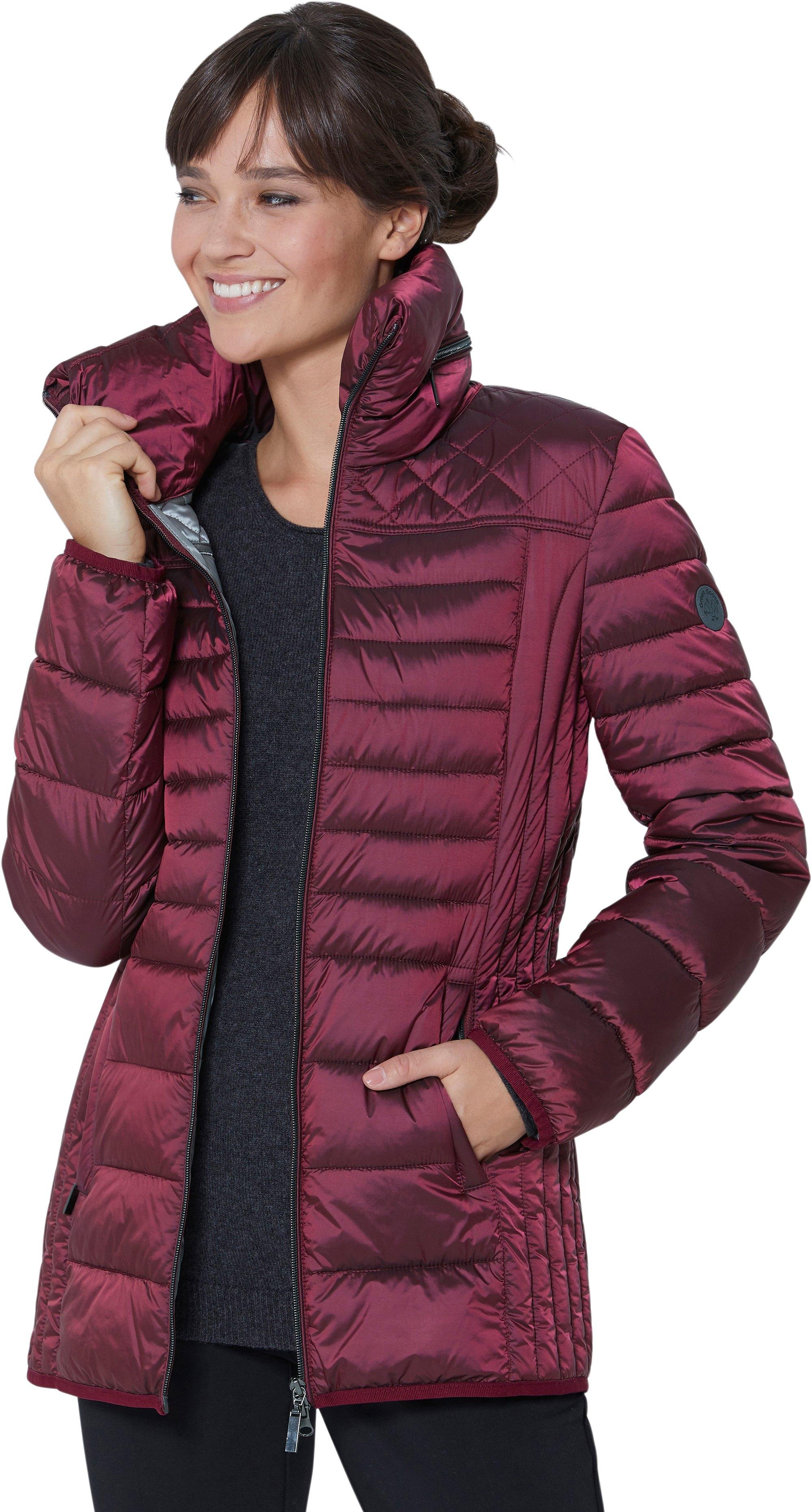 Casual Looks Wega Fashion gewatteerde jas met plooi in de kraag in de webshop van OTTO kopen