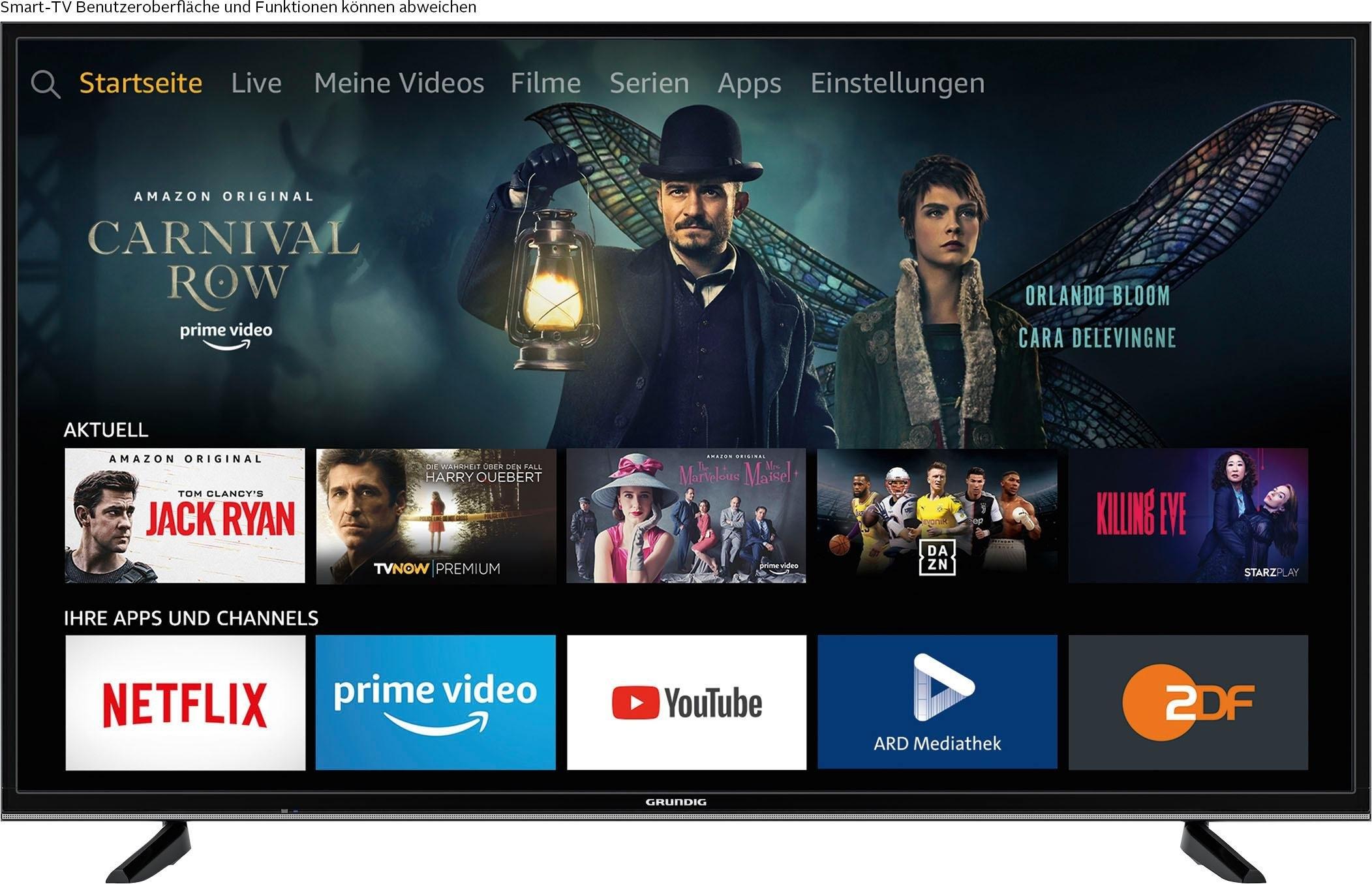 Grundig 49 VLX 7020 led-tv (123 cm / 49 inch), 4K Ultra HD, smart-tv - verschillende betaalmethodes