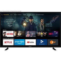 grundig 65 vlx 7020 led-tv (164 cm - 65 inch), 4k ultra hd, smart-tv zwart