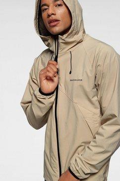 quiksilver windbreaker »jambi jacket« bruin