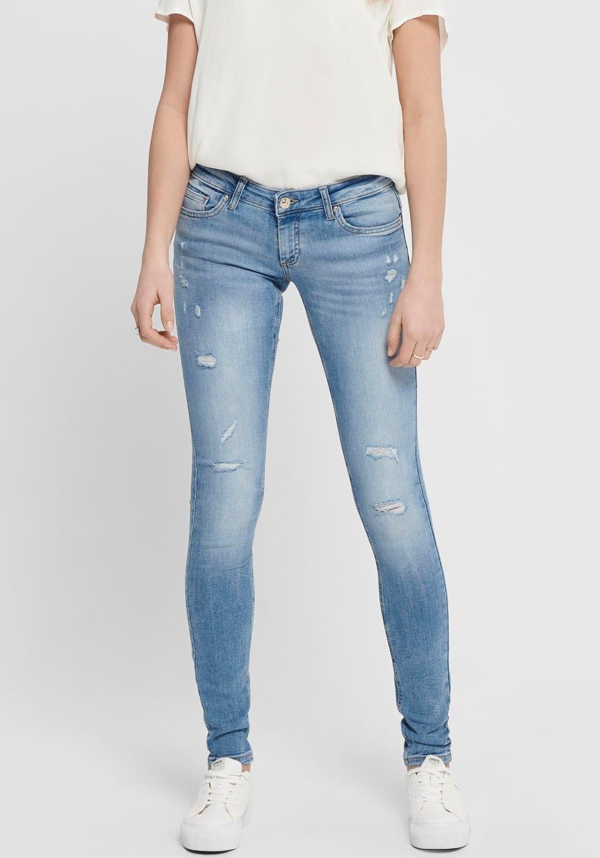 Only skinny fit jeans ONLCORAL met destroyed-effecten - verschillende betaalmethodes