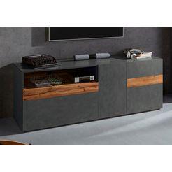 trendmanufaktur tv-meubel »silke light« grijs