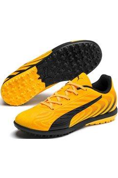 puma voetbalschoenen »puma one 20.4 tt jr turf« geel