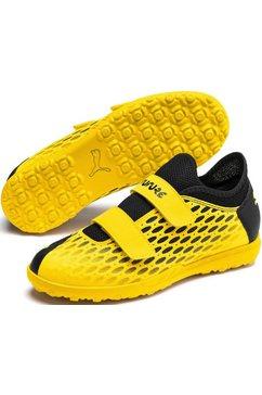 puma voetbalschoenen »future 5.4 tt v jr turf« geel