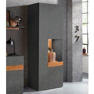 trendmanufaktur vitrinekast »silke light« grijs