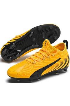 puma voetbalschoenen »puma one 20.3 fg-ag jr« geel