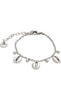 xenox zilveren armband »muschel, urban jungle, x6475« zilver