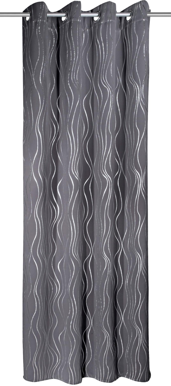 WILLKOMMEN ZUHAUSE by ALBANI GROUP gordijn FRANKFURT HxB: 245x135, sjaal met oogjes (1 stuk) online kopen op otto.nl
