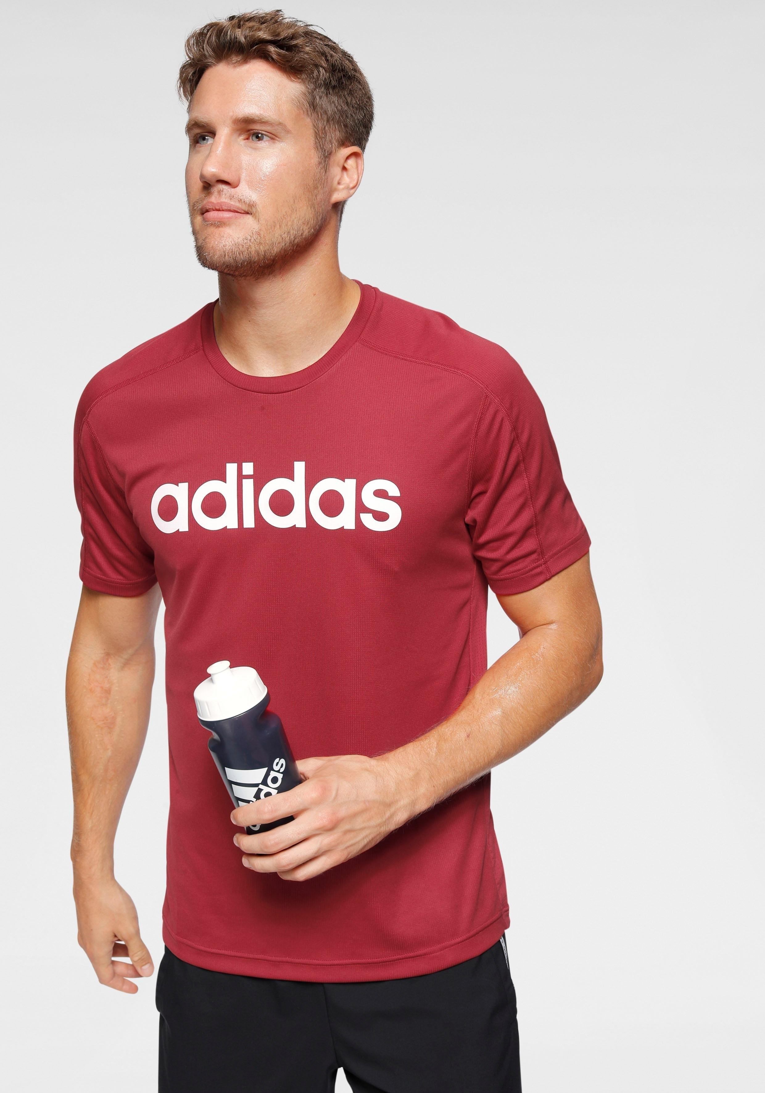 adidas Performance adidas functioneel shirt »D2M COOL LOGO TEE« - verschillende betaalmethodes