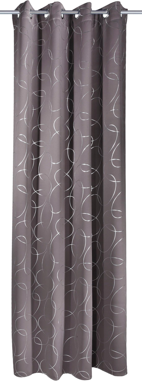 WILLKOMMEN ZUHAUSE by ALBANI GROUP gordijn Calw HxB: 245x135, sjaal met oogjes (1 stuk) bij OTTO online kopen