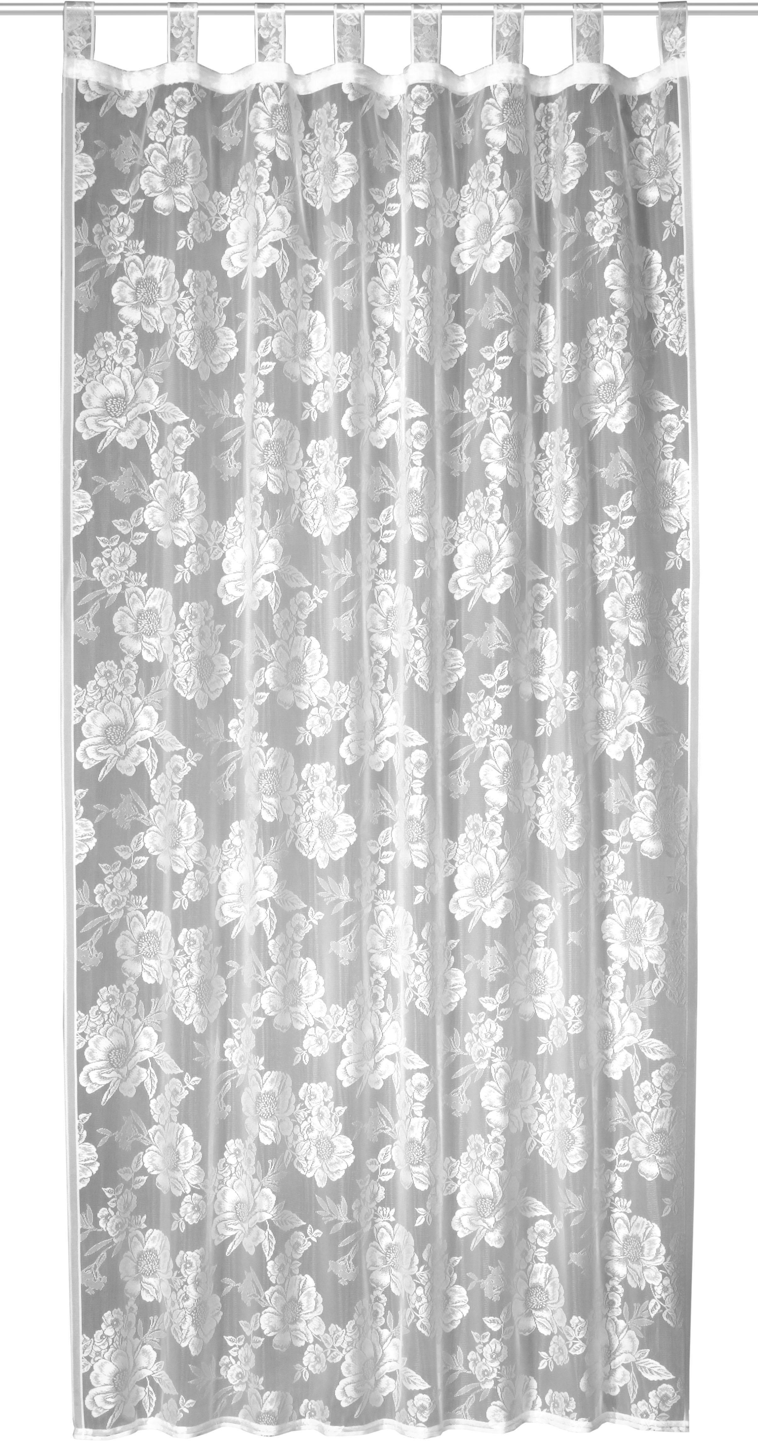 WILLKOMMEN ZUHAUSE by ALBANI GROUP gordijn Aalen HxB: 245x140, lussjaal met rimpelband (1 stuk) goedkoop op otto.nl kopen