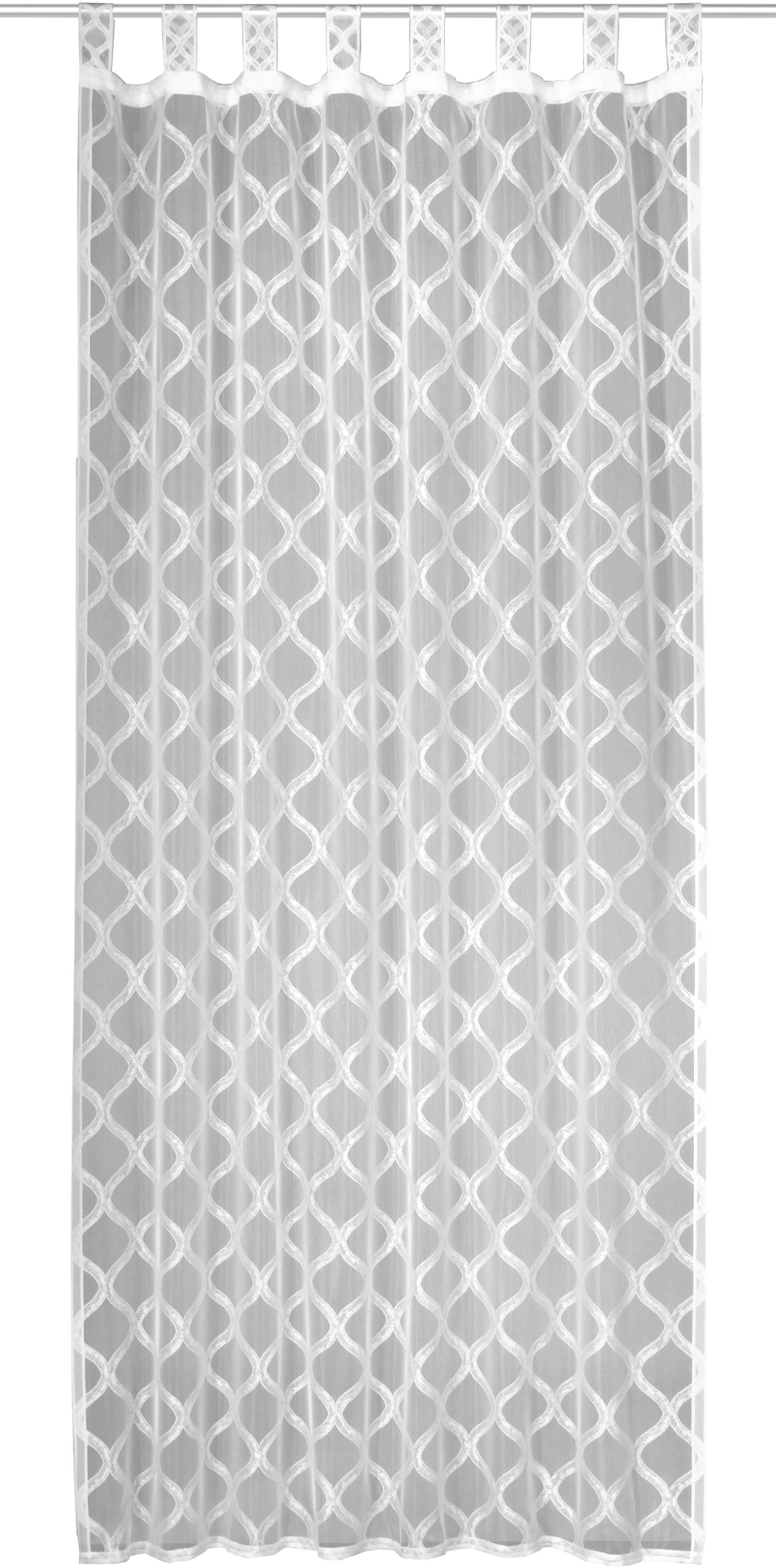 WILLKOMMEN ZUHAUSE by ALBANI GROUP gordijn Bühl HxB: 245x140, lussjaal met rimpelband (1 stuk) veilig op otto.nl kopen