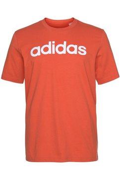 adidas t-shirt »e linear tee« oranje