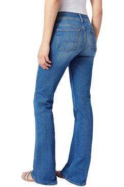 pepe jeans wijd uitlopende jeans »new pimlico« blauw