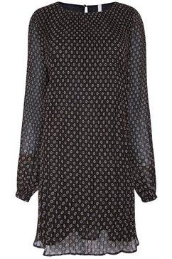 pepe jeans gedessineerde jurk »antia« zwart