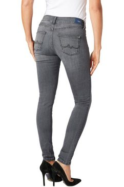 pepe jeans skinny fit jeans »pixie« grijs