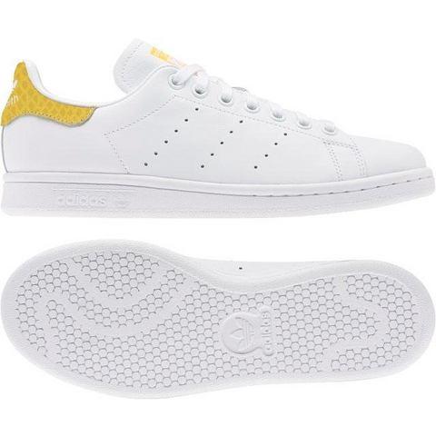 adidas Originals Stan Smith W sneakers wit-geel