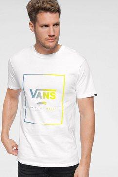 vans t-shirt »print box« wit