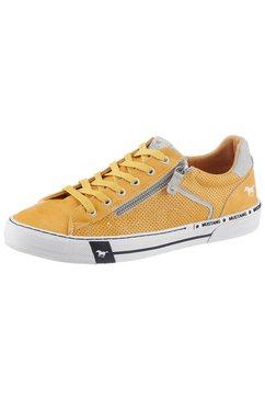 mustang shoes sneakers geel