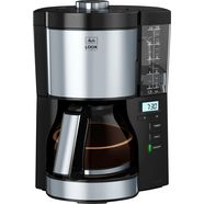 melitta filterkoffieapparaat look v timer 1025-08 zwart, 1,25 l zwart