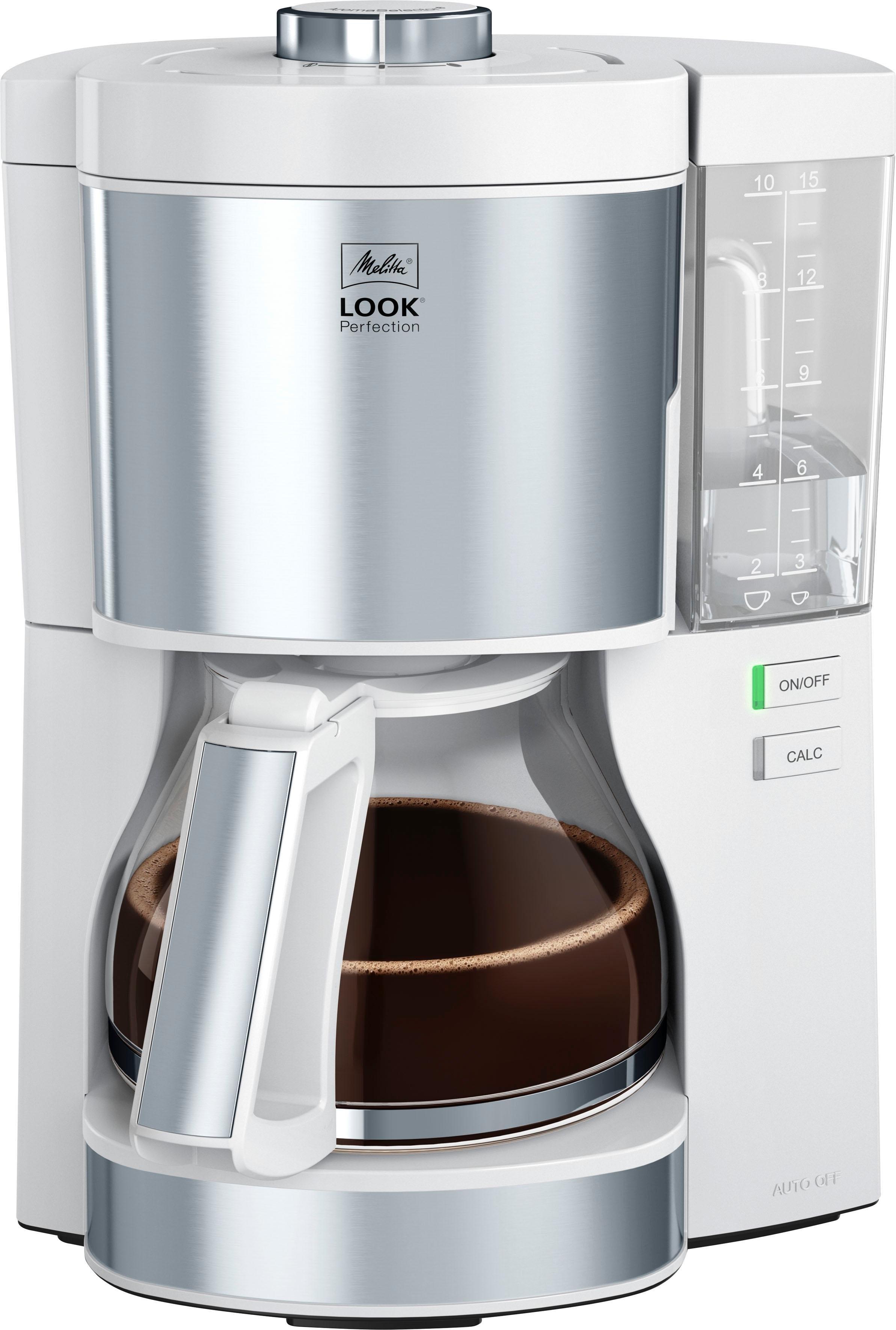 Melitta filterkoffieapparaat Look V Perfection 1025-05 wit, 1,25 l bestellen: 30 dagen bedenktijd