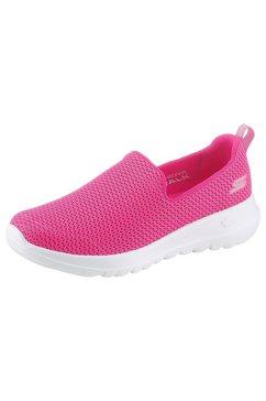 skechers slip-on-sneakers »go walk joy« roze